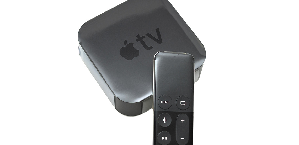 Apple TV device and remote
