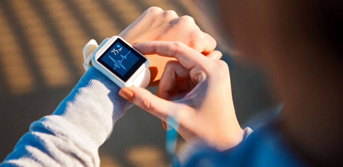 Fitbits are often used to track steps and measure exercise routines.